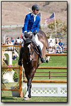Lane Clarke Champion Jumping McLord's First John
