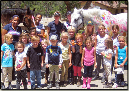 Summer Horseback Riding Camps in Nellie Gail Ranch